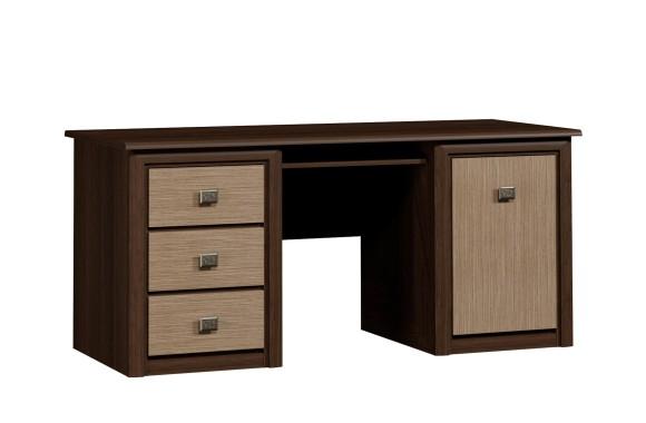 Угловой письменный стол Штрокс темный