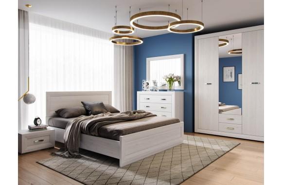Модульная спальня Мальта в цвете Лиственница сибирская