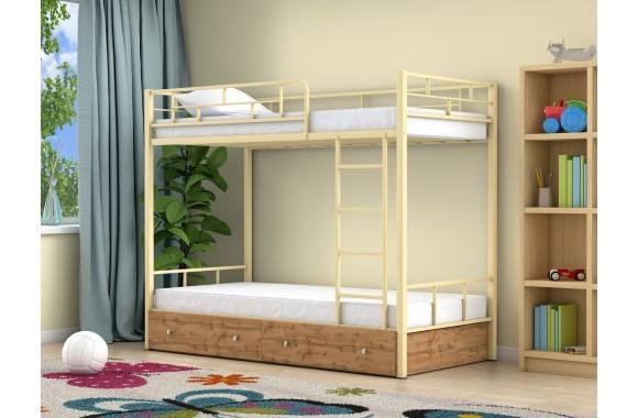 Детская кровать с ящиками Ницца (90х190)