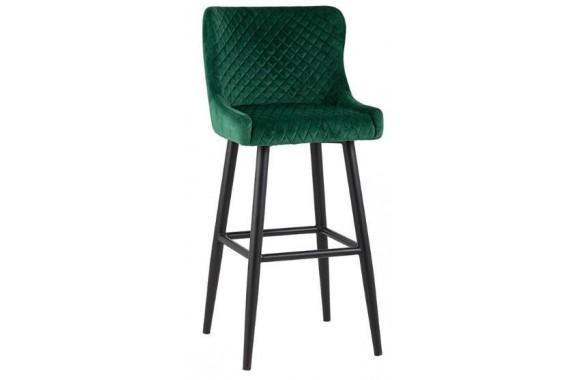 Барный стул Stool Group Ститч вельвет изумрудный [MC15B VELVET HLR-56 DUAL]