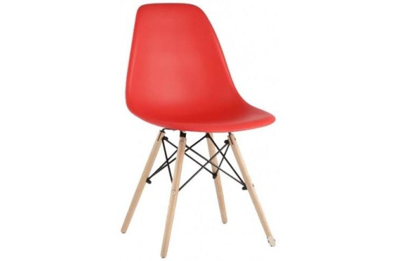 Стул Stool Group Eames DSW красный [8056PP RED]