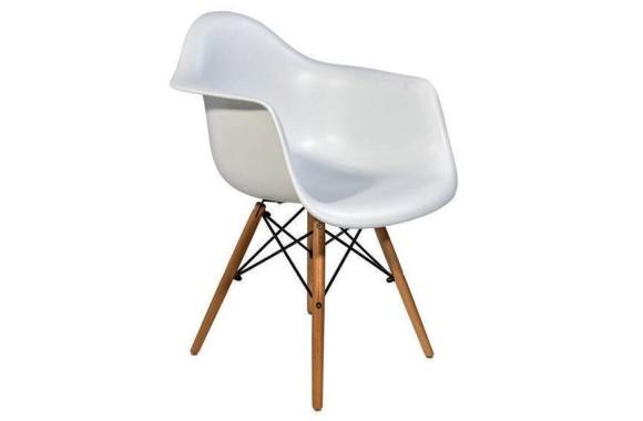 Стул Stool Group Eames DAW белый [8066 WHITE SEAT DUAL]