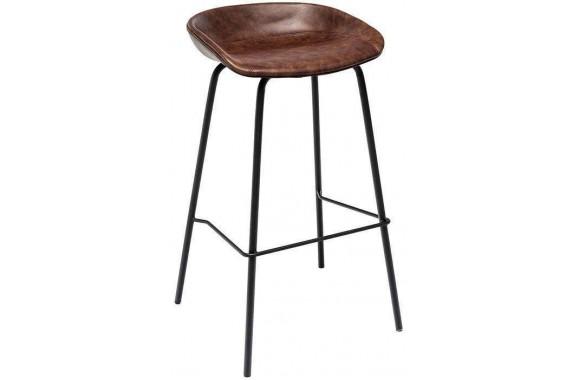 Стул барный Stool Group Турин экокожа коричневый [8319TB BROWN]
