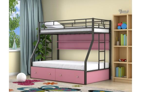 Детская кровать горкой Милан (90х190/120х190)