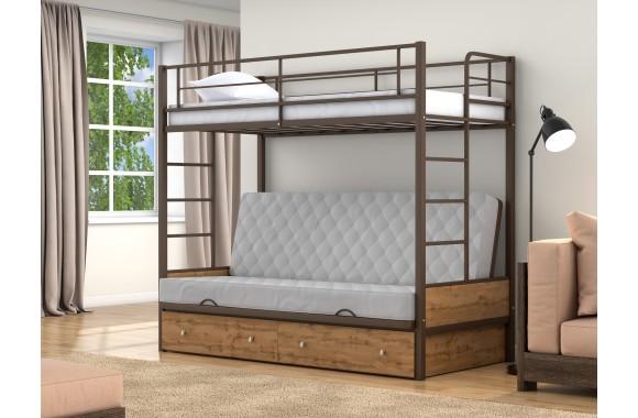 Кровать-трансформер Дакар 1 (90х90/120х190)