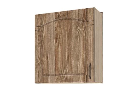 Кухонный шкаф навесной Камила тёмная