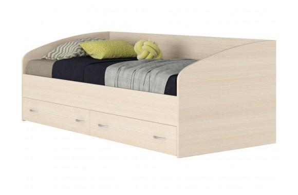 Кровать от 3 лет с матрасом ГОСТ Уника (90х200)