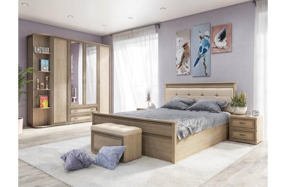 Спальня Ливорно в цвете Дуб Сонома