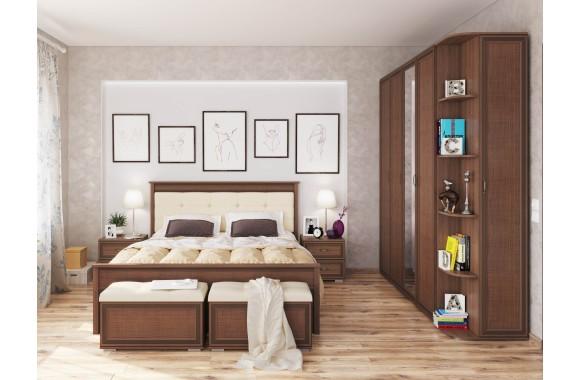 Спальные гарнитур Ливорно в цвете Орех донской