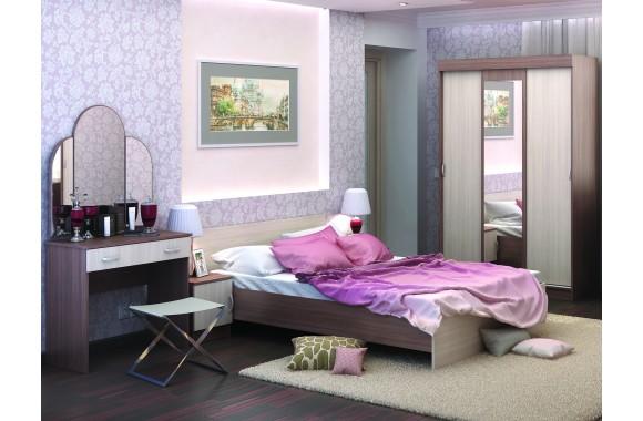 Спальня Бася в цвете Шимо темный