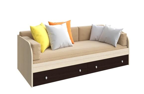 Двухъярусная кровать одноярусная Астра