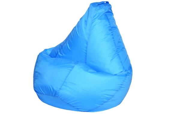 Кресло Мешок Голубое Оксфорд XL 125х85