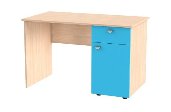 Угловой компьютерный стол письменный правый Golden Kids