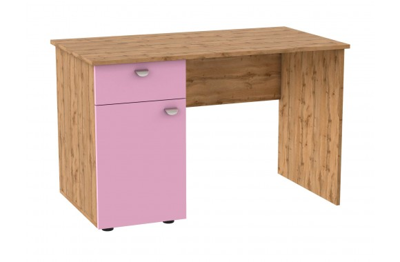 Угловой компьютерный стол письменный левый Golden Kids
