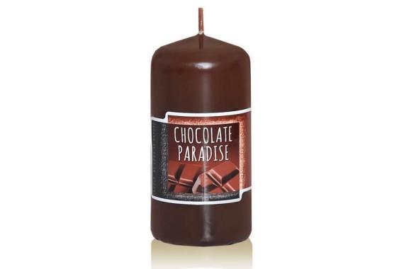Аксессуары Свеча Колонна Шоколад