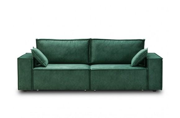Диван зеленый Фабио