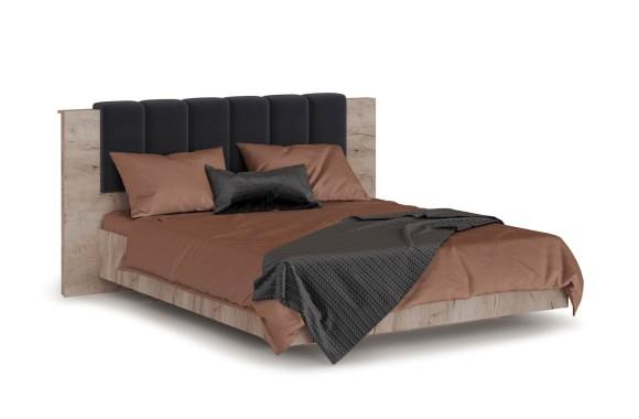 Кровать с мягким изголовьем Джулия