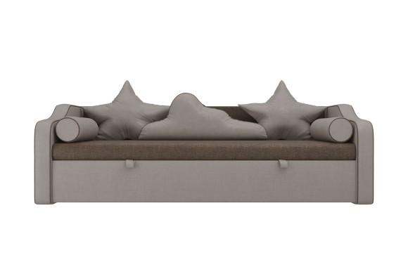 Бежевый диван Детский кровать Рико