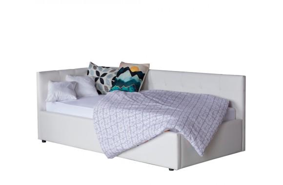 Диван Односпальная кровать-тахта Bonna 900 белый с подъемным механизмо