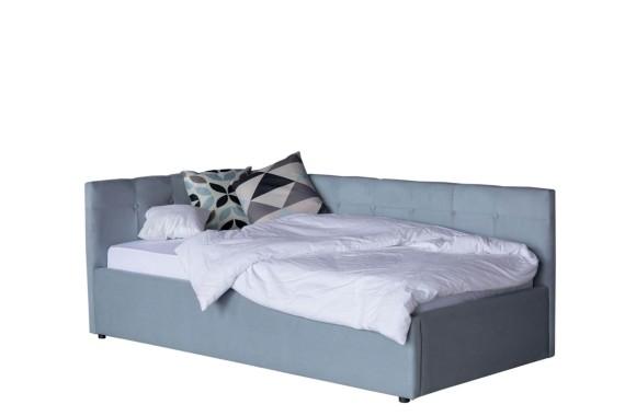 Диван Односпальная кровать-тахта Bonna 900 серая ортопед.основание
