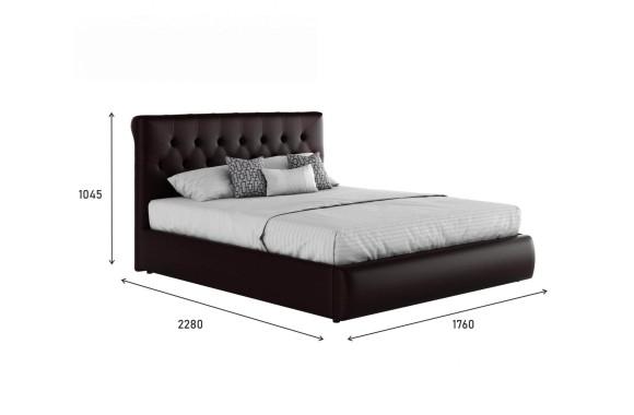 """Кровать Мягкая интерьерная """"Амели&; с подъемным"""