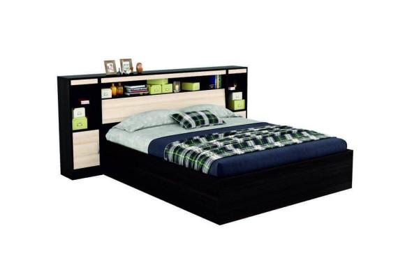 """Тумба Двуспальная кровать """"Виктория&; 1800 с блоком"""