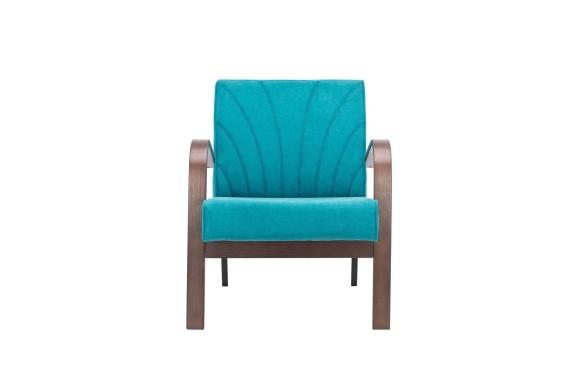 Кресло из ротанга для отдыха Шелл
