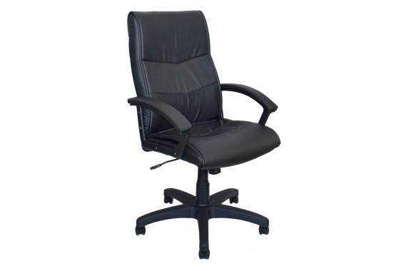 Кресло Офисное Office Lab comfort-2052 Эко кожа черный