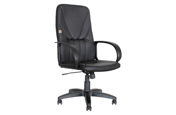 Кресло Офисное Office Lab standart-1371 ЭК кожа черный