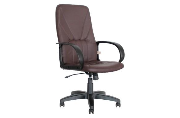 Кресло Офисное Office Lab standart-1371 ЭК кожа шоколад