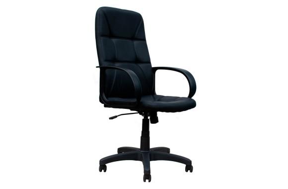 Кресло Офисное Office Lab standart-1591 ЭК кожа черный