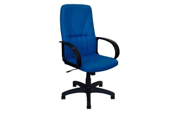Кресло Офисное Office Lab standart-1371 ЭК кожа синяя