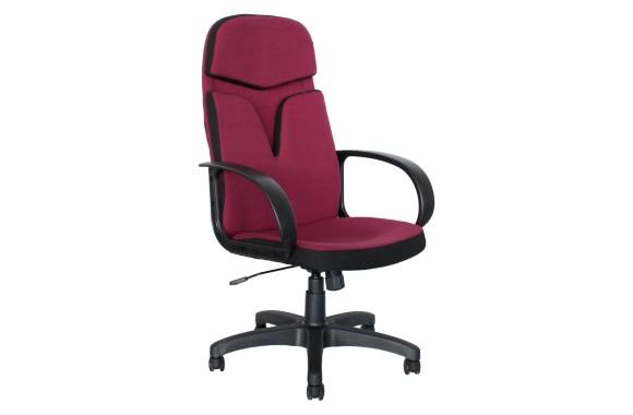 Кресло руководителя Office Lab comfort-2562 Ткань Бордовый