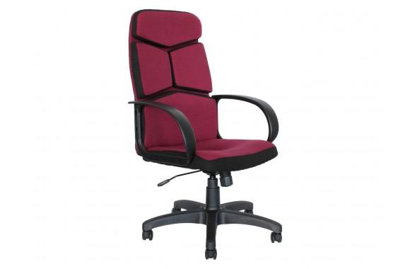 Кресло руководителя Office Lab comfort-2572 Ткань Бордовый