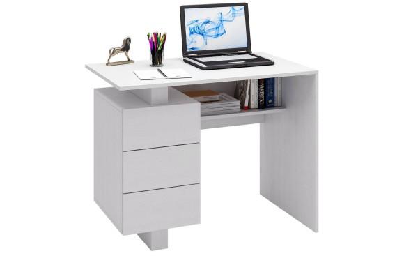 Компьютерный стол Ренцо-1 белый