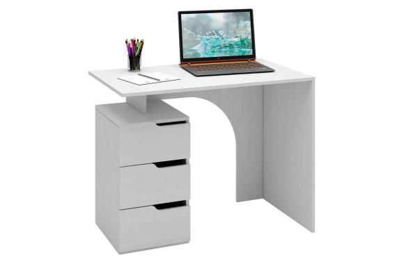 Стол компьютерный Нейт-1 белый
