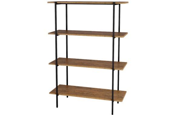Книжный шкаф Стеллаж Атлантик 1275 дуб американский