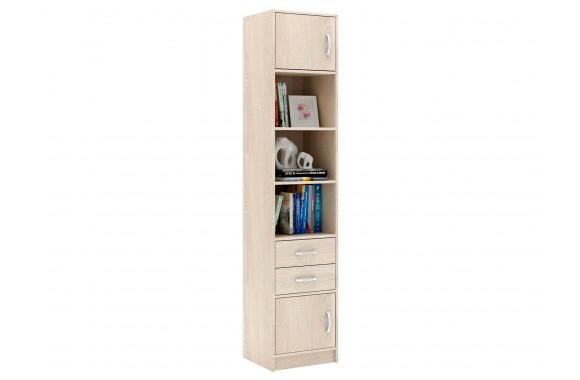 Шкаф Стеллаж в комплекте Либерти-41 дуб сонома