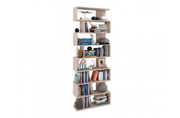 Книжный шкаф Стеллаж Файн-4 дуб сонома