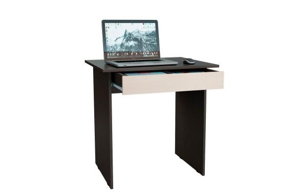Компьютерный стол письменный Милан-2Я венге / дуб молочный
