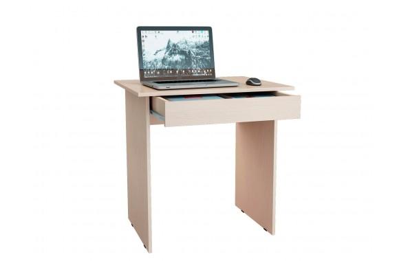 Стол компьютерный письменный Милан-2Я дуб молочный