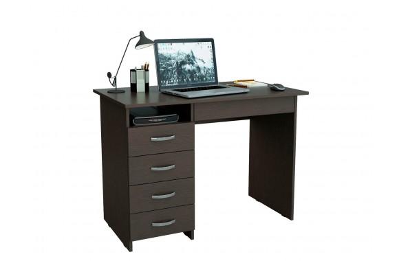 Стол компьютерный письменный Милан-1 (0120) венге