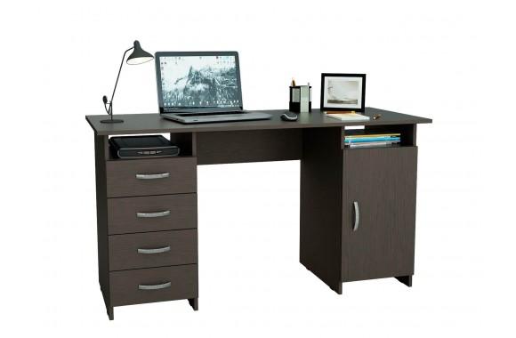 Компьютерный стол письменный Милан-7 (0120) венге