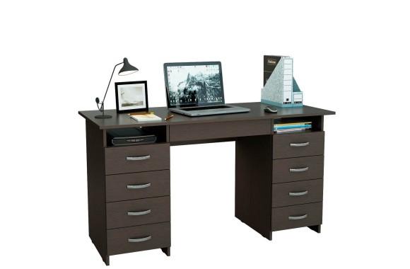 Компьютерный стол письменный Милан-10Я (0120) венге