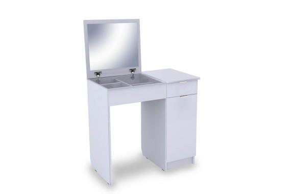 Туалетный столик Римини-3 белый