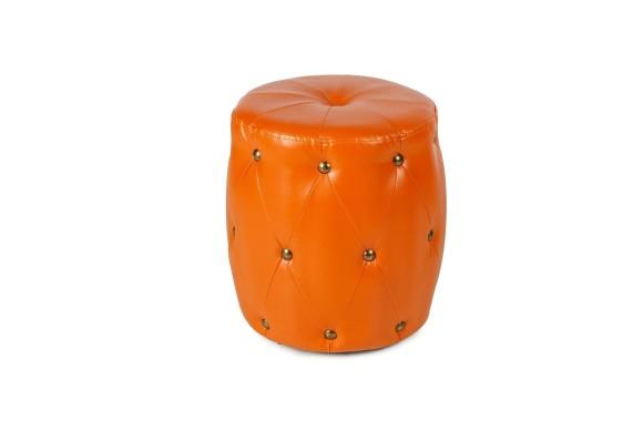 Пуф ПФ-6 (круглый) оранж