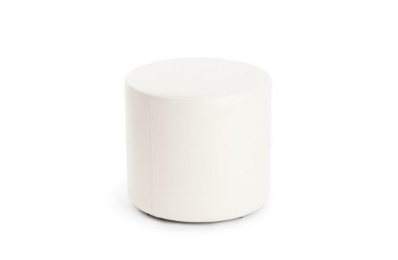 Пуф ПФ-5 (круглый) белый